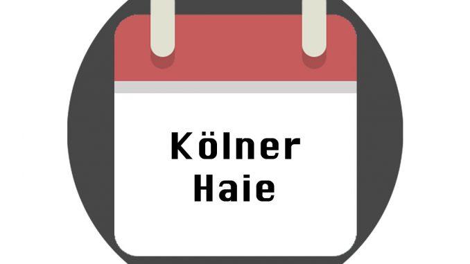 Kölner Haie Spielplan