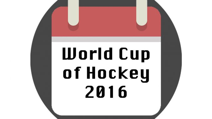 World Cup of Hockey 2016 Spielplan