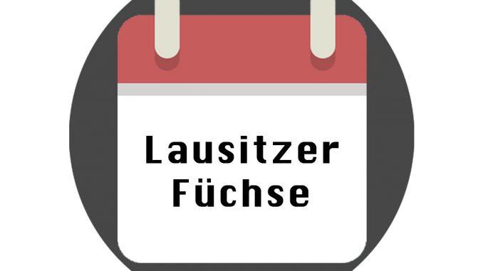 Lausitzer Füchse Spielplan