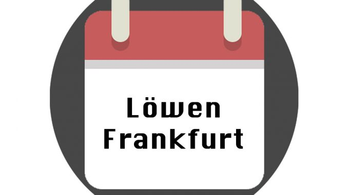 Löwen Frankfurt Spielplan