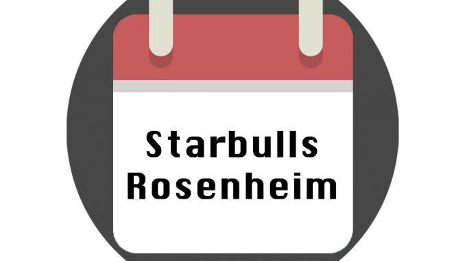 Starbulls Rosenheim Spielplan