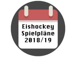 Eishockey Spielplaene 2018/2019